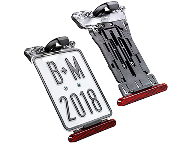Busch + Müller E-Bike License Plate Holder